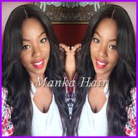 150% Density Peruvian human hair Full Lace Wig  Lace Front W...