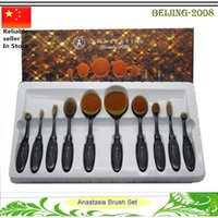 Anastasia Beverly Hills Oval Brush Set & Kits Makeup Brush C...