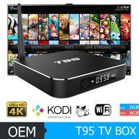 [Genuine] T95 Android 5. 1 TV Box 1GB 8GB Amlogic S905 Quad C...