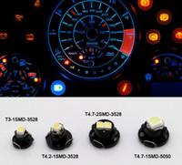 white T3 T4. 7 T5 1210 SMD 1 LED 2 Led 12V Instrument Indicto...