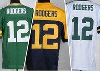 2016 Packers #12 Aaron Rodgers Elite Football Jerseys Green ...