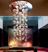 cheap free shipping patrick jouin hot selling arts lighting modern minimalist design artistic glass bubble ball ceiling chandelier artistic lighting and designs