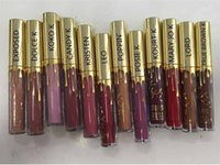 Nuevo lápiz labial líquido Kylie Lip Kit Jenner Lord Gold Lipkit Gloss En LEO Limited Edition Matte Edición Cumpleaños Lipstick 12 Colores