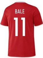 Thai Quality 2016 Customized BALE #11 Home Soccer JerseyS, Di...