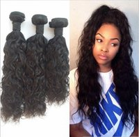 Free Shipping Brazilian Water Wave 3 Bundles Wet And Wavy Vi...