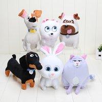 6pcs lot 15- 26cm The Secret Life of Pets Dog Plush Toys Soft...