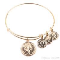 Золотая монета для браслетов