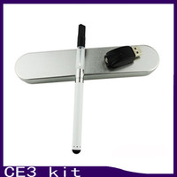 BUD toucher O stylo CE3 kit CBD chanvre cire huile atomiseur vaporisateur stylo cartouches e cigarette cartouche vapeur 0.3 0.5 1.0ml 0268019