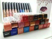 21 couleurs Kit de lèvres Kylie 2016 par kylie jenner Lipstick Kylie lèvres Gloss liquide rouge à lèvres mat Lipliner composent Cosmétiques livraison gratuite DHL