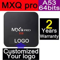 1pcs Custom Made MXQ PRO 2 Years warranty Google Android5. 1 ...