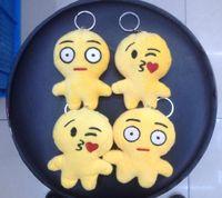 New Fashion Emoji Smiley Keychains Cute Cartoon Pendant Car ...