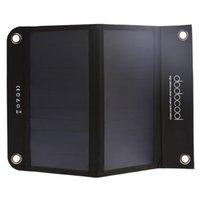 dodocool solare portatile del caricatore della Banca di potere pacchetto esterno pieghevole 12W 10000mAh Dual USB per Smartphone Tablet DA69