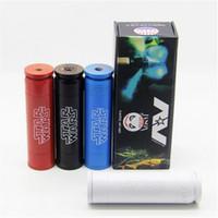 Capaz de Star Wars Mod mecánica Vape Mod 4 colores Material Latón grabado encaja 18650 envío libre