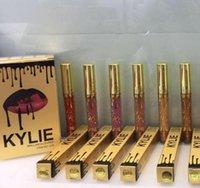 Kylie Lip Kit Jenner liquid lipstick Lord Gold Lipkit Gloss ...
