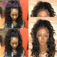 Hot Selling Full Lace Front Human Hair Wigs For Black Women ...