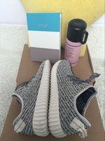 (With Box Receipt)Yeezy Boost 350 Grey Black Kanye West Yeez...
