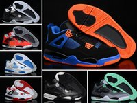 retro IV laser 4 glow mens basketball shoes cheap sneakers 2...
