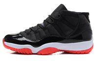 2016 Newest Arrivals Brand XI 11s Bred Men Basketball Shoes ...