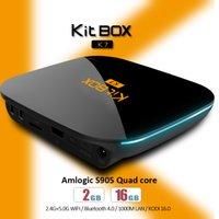 KIT BOX K7 Android Tv Boxes S905 Quad Core 2G 16G 4k Smart M...