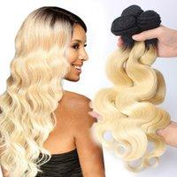 9A European Hair Body Wave Virgin Human Hair Weaves 613# Unp...