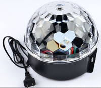 LED voice- control crystal magic ball lamp Magic ball party l...