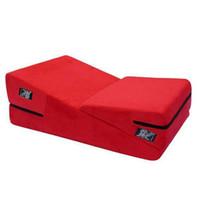 Sex Sofa 2PC Triangular Sponge Pad Adult Pillow Cushion Mult...