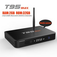 Android TV Box 5. 1 Amlogic S905 4K Streaming Media Player T9...