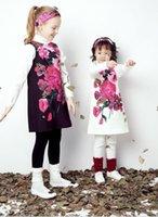 2016 Wl monsoon Autumn Beautiful Floral Dresses Children A L...