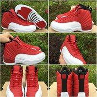 Drop Shipping Gym Red Retro 12 XII Mens Sports Basketball Sh...