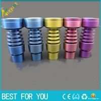 Two function Colorful Domeless Titanium Nail Ti Nail 14mm 18...