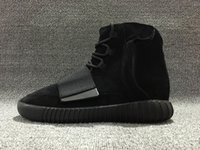 Top Quality New Arrived Boost 750 All Black kanye west men B...