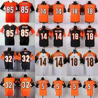 2016 Elite Mens Bengals Jerseys 14 Andy Dalton 18 A. J. Green...