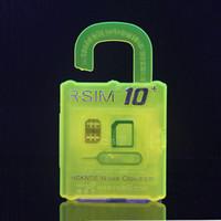 Official R- SIM 10+ rsim10 RSIM Thin sim Card unlocking for I...