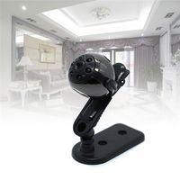 30pcs / lot HD 1080P 720P Sports Rotation de 360 degrés 6 Lumière Night Vision Mini DV caméscope Supprot TF carte SQ8 Upgrates SQ9 avec Retail Box