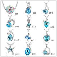Fashion Austrian Crystal CZ Diamonds Heart Angel Swan Starfi...
