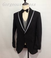 Newest Custom Made Blazer Man Suits Peaked Lapel One Button ...