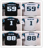 2016 NEW PLAYER Carolina #1 NEWTON #59 KUECHLY #88 OLSEN jer...