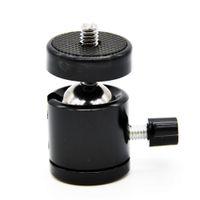 Vente en gros-Photographie 360 Swivel Mini Rotule 1/4