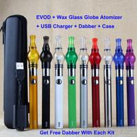 E Pen Wax Glass Globe Single Cotton Coil Wax Tank Atomizer E...