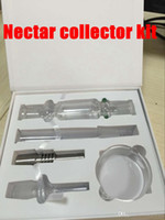 3 Size Nectar Collector kit honey straw Glass pipe water pip...