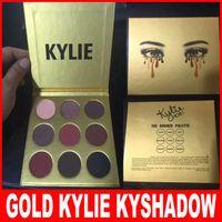 Kylie Limited Birthday Edition Kyshadow Bronze Golden Gold E...
