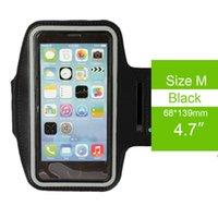 Водонепроницаемый спорт Бег случая Armband Запуск мешок тренировки Armband держателя Pounch Для iPhone для Apple 4.7inch 5.5inch 6 6S 7 7s