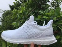 Top quality 2016 Men Hypebeast Uncaged Ultra Boost All White...