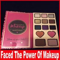 Столкнувшись Сила макияжа По Tutorials 13 Никки Цвет теней макияже палитры бронзатор Shadow