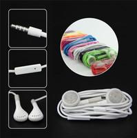 Samsung наушники наушники гарнитуры 3,5 мм с микрофоном Цвет Красочный наушники для Iphone 4 5s S5 S6 Примечание4 HTC One Blackberry