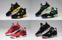 Free shipping Mens 2016 Cheap New Retro 4 IV Basketball Shoe...
