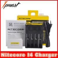 Nouvelles fonctionnalités d'origine Nitecore I4 Chargeur 4 Bay Chargeurs intelligents pour 18650 18350 18500 18450 batteries au lithium