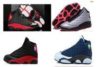 HOT 13 Retro Basketball Shoes Men new basketball shoes cheap...