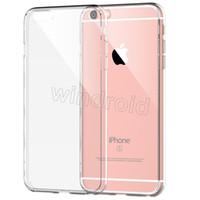 Pour Iphone i7 6s 5 SE, plus Samsung S7 S7 bord Case Gel Crystal pour iPhone 6s Plus Ultra-Thin Cas TPU souple transparent Note 7 Cases claires