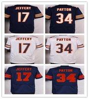 HOT SALE!!Men' s Bears Elite Football Jerseys 34 Payton ...